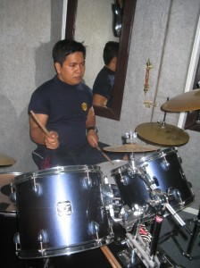 Heru on Drum..