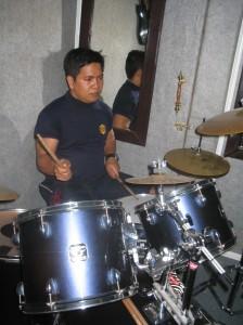 Heru on Drum..