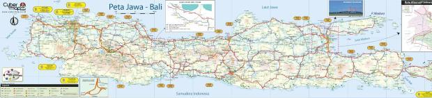 Peta Mudik 2009