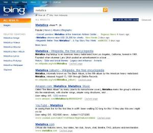 search by Bing
